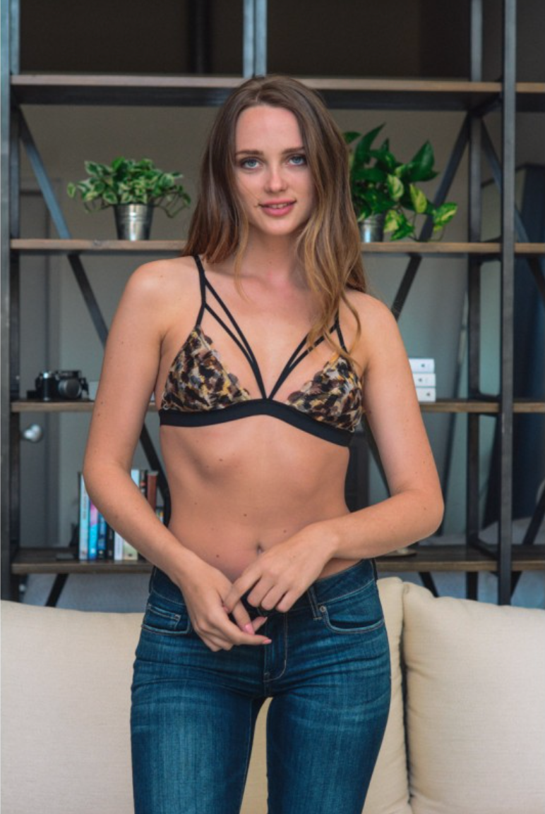 Leopard Strappy