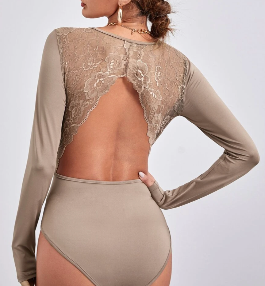 Long Lace Backless