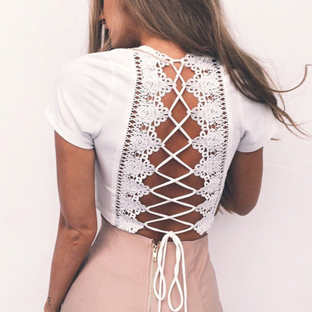Criss-Cross, Lace-Up