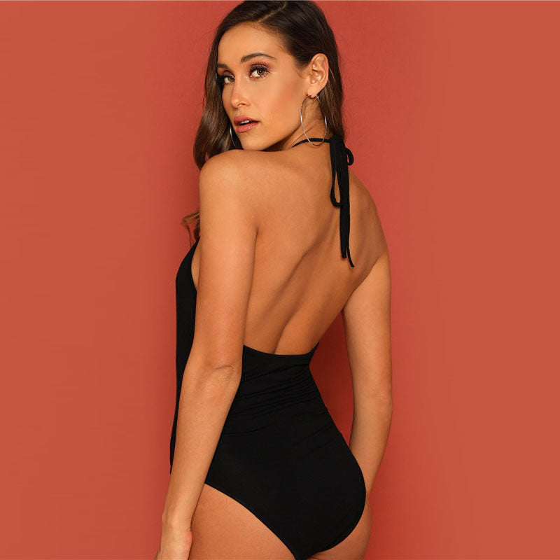 Backless Halter