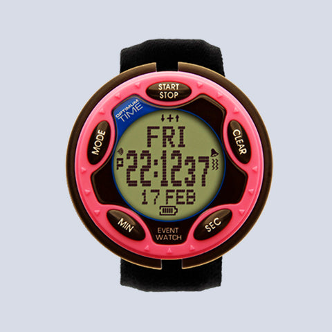 Optimum Time Eventing Watch Series 3 - Red