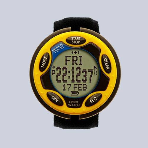 Optimum Time Eventing Watch Series 14 - Yellow - Uptown E Store