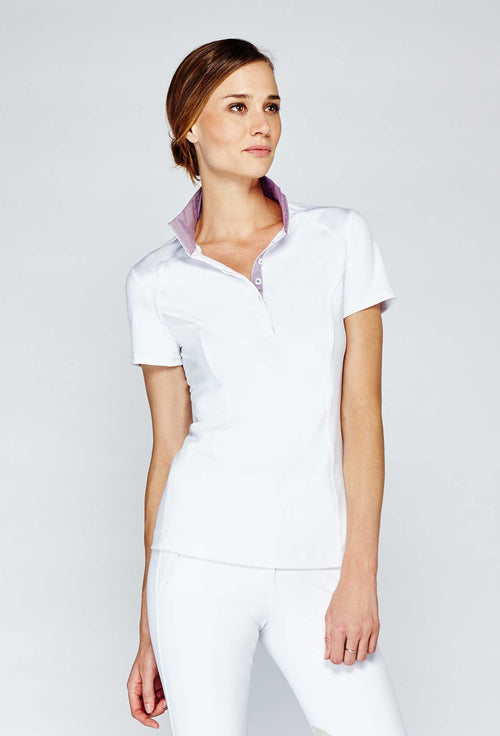 Noel Asmar Kentucky Technical Show Shirt - White/Dark Purple - Uptown E Store