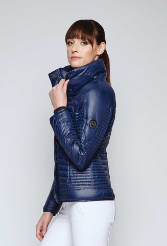 Noel Asmar 4 Seasons Down Vest- Navy - New Year Sale