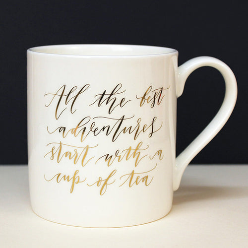 "Imogen Owen 'All The best Adventures"" Mug - Uptown E Store"