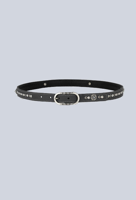 Judi Manche Belt Paris Classic Royal silver diamond Belt - Uptown E Store