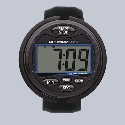 Optimum Time Eventing Watch Series 3 - Black - Uptown E Store