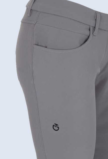 Cavalleria Toscana grip system breeches - Light Grey - Uptown E Store