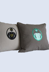 Luxury Personalised Cushion - Rider Colours - Uptown E Store