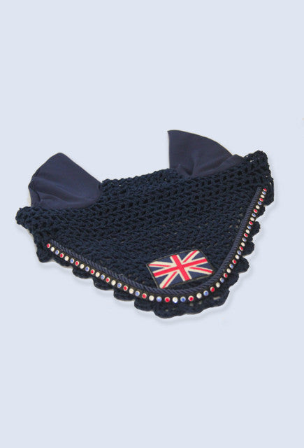 Judi Manche Blue Ear Net Cadron with flag - Uptown E Store