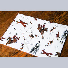 Emily Cole Wrapping Paper - Hunting - Uptown E Store