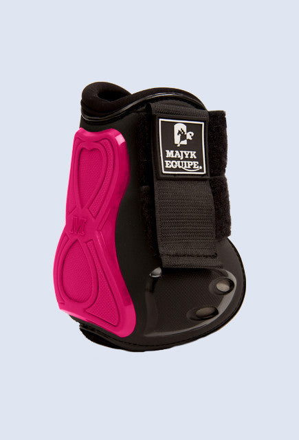 Majyk Equipe Vented Infinity Open Hind Jump Boot - Pink - Uptown E Store