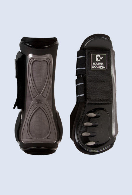 Majyk Equipe Vented Infinity Tendon Boot - Black - Uptown E Store