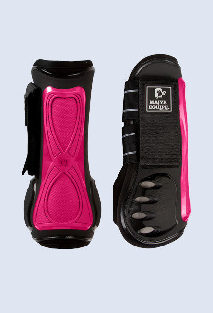 Majyk Equipe Vented Infinity Tendon Boot - Pink - Uptown E Store