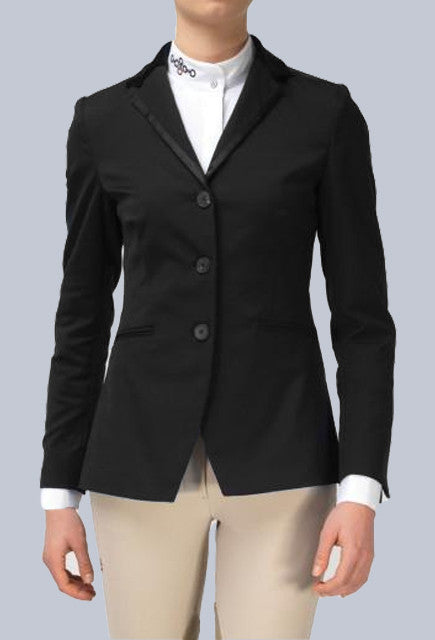 Cavalleria Toscana Ladies Super Chic Jacket - Black - Uptown E Store