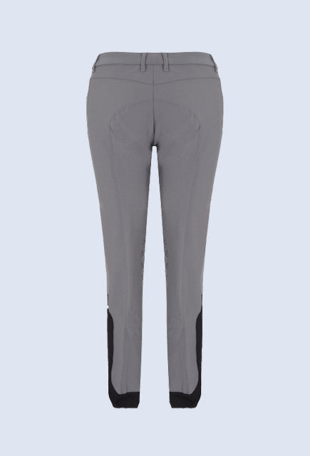 Cavalleria Toscana grip system breeches - Light Grey back