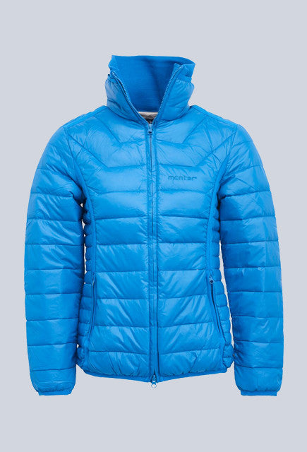 Montar Sophie Light Down Jacket - Petrol - Uptown E Store