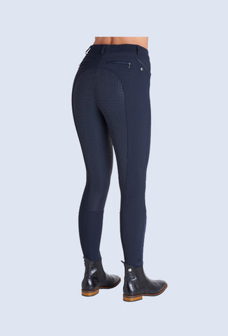 Cavalleria Toscana grip system breeches - Light Grey