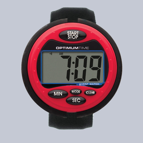 Optimum Time Eventing Watch Series 3 - Red - Uptown E Store