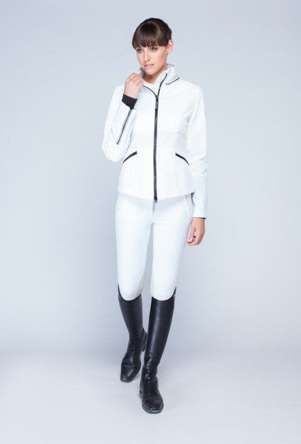 Noel Asmar The Rider Jacket - White - Uptown E Store
