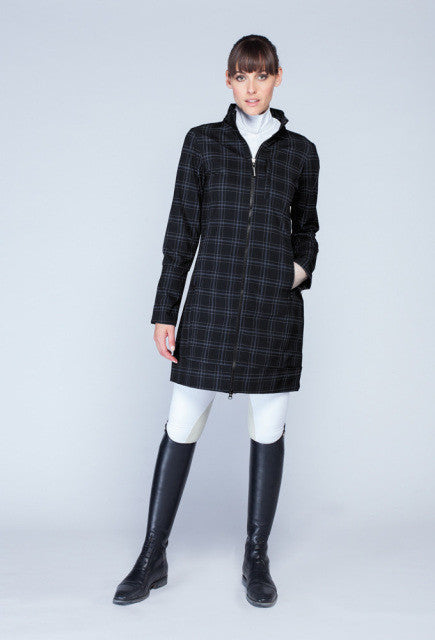 Noel Asmar The All Weather Rider Lightweight - Black Plaid - Uptown E Store