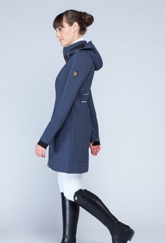 Noel Asmar Arabesque Down Coat - Navy