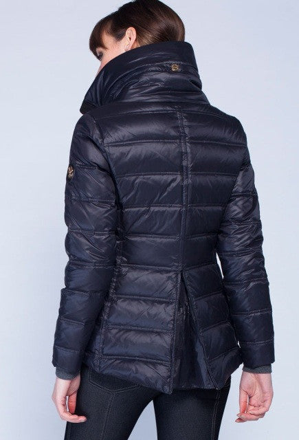 Noel Asmar Arabesque Down Coat - Black - Uptown E Store