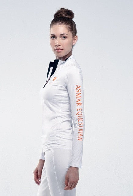 Noel Asmar Basic Compression Top - White - Uptown E Store