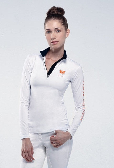 Noel Asmar Basic Compression Top - White