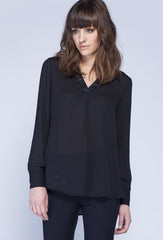 Noel Asmar Willow Blouse  - Black - Uptown E Store