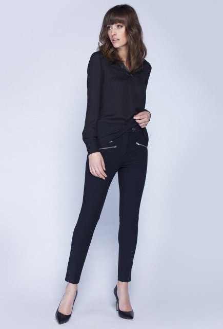 Noel Asmar Willow Blouse  - Black