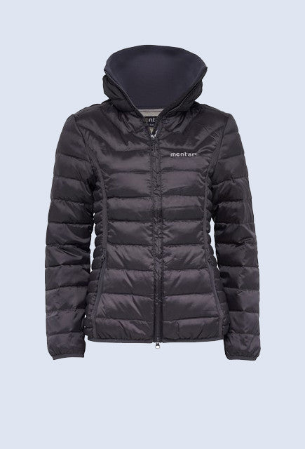Montar Sophie Light Down Jacket - Grey - Uptown E Store