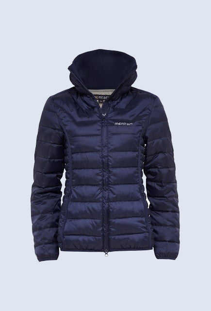 Montar Sophie Light Down Jacket - Navy - Uptown E Store