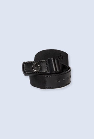 Cavalleria Toscana stretch cross belt - Black