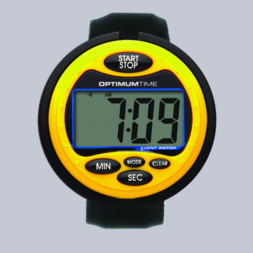 Optimum Time Eventing Watch Series 3 - Yellow - Uptown E Store