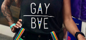 GayBae Fitted Tank Top