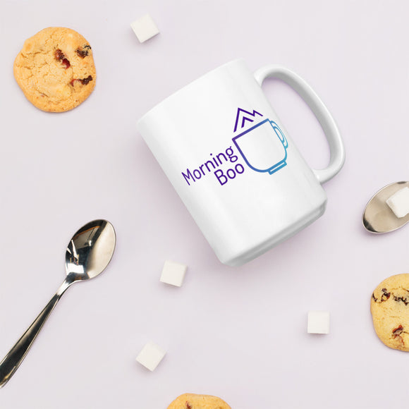 Morning Boo Logo Mug