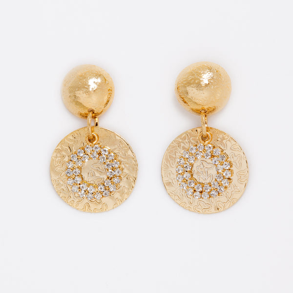 Crystal Tier Earrings