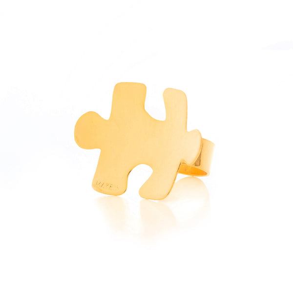Puzzle Statement Ring