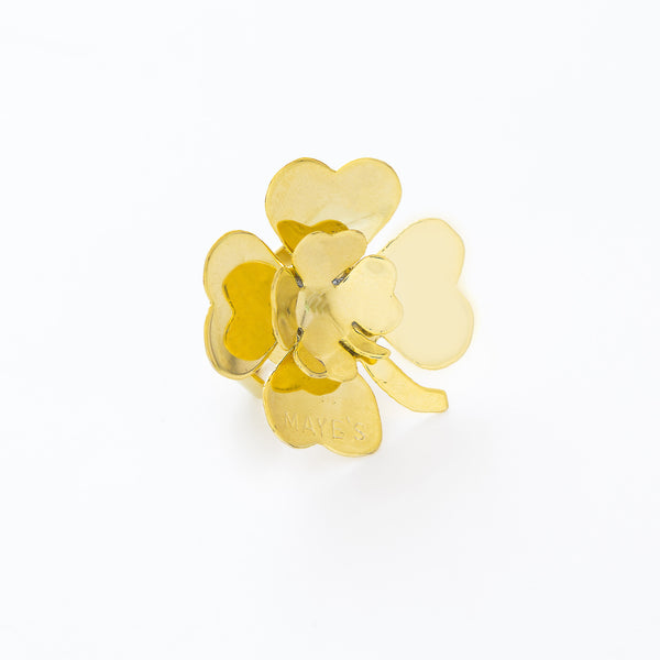 Double Clover Ring