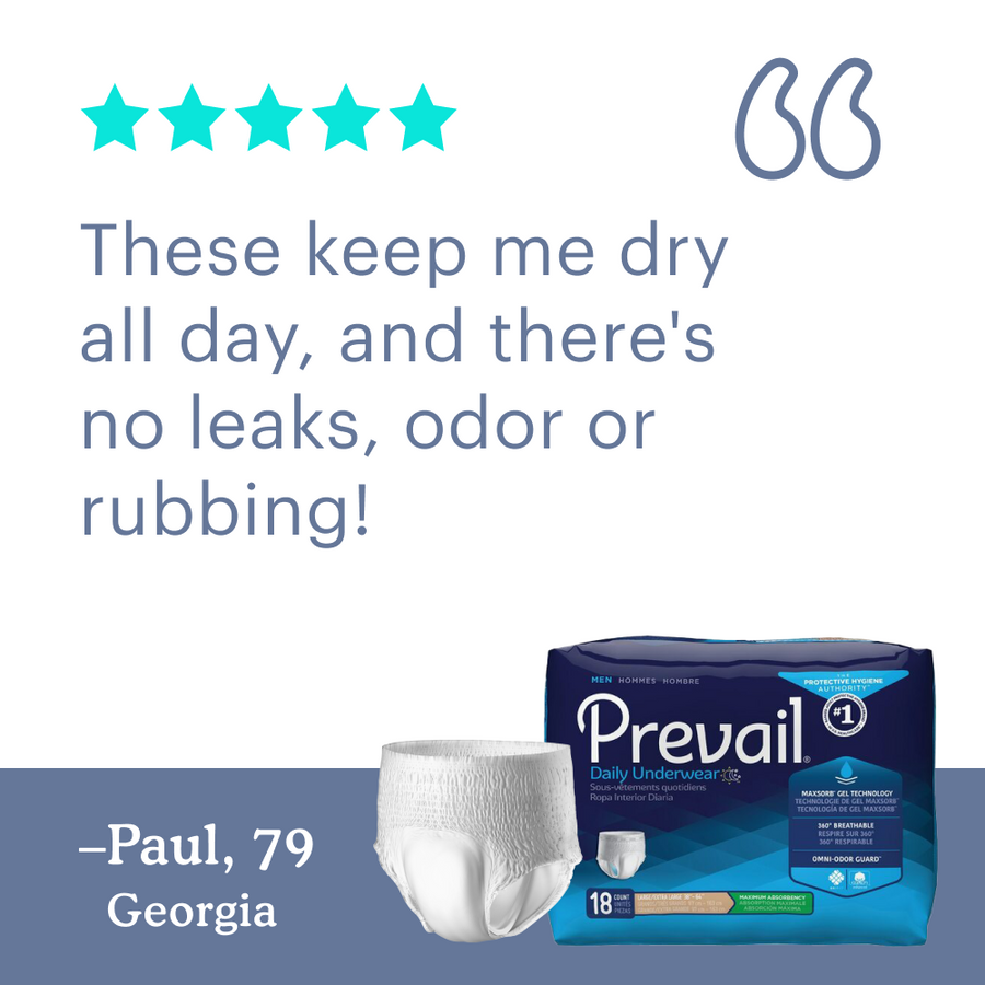Prevail by Because Underwear for Men (Overnight)