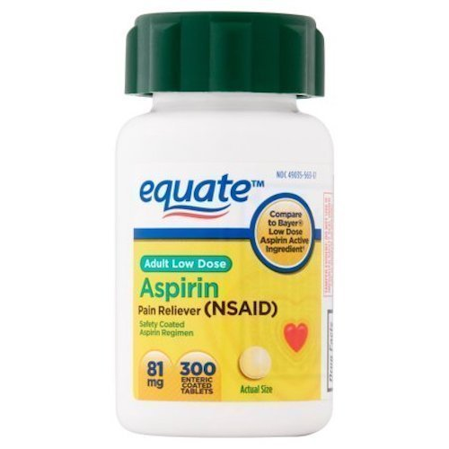 Aspirin Coated 100 Tablets
