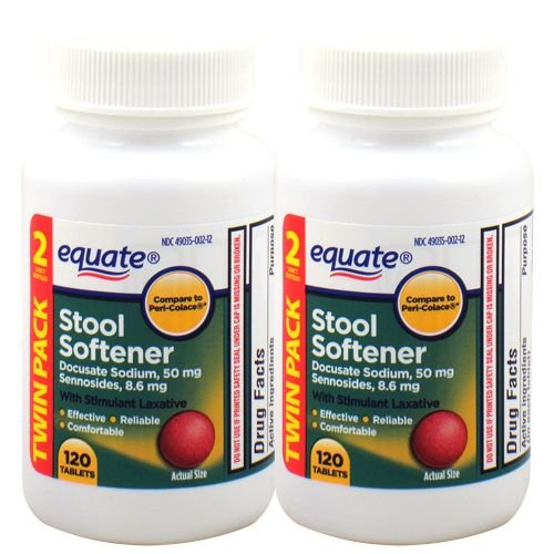 Stool softener with laxative (240 tablets)