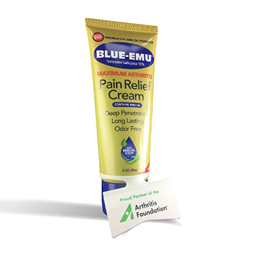 Blue Emu pain relief cream (3oz)