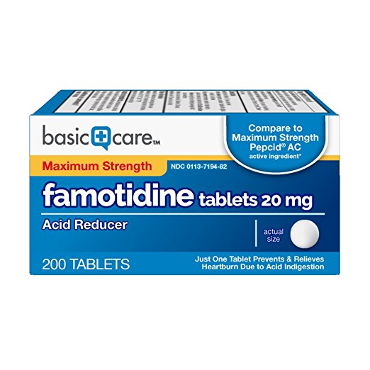Famotidine (20 mg 200 count)