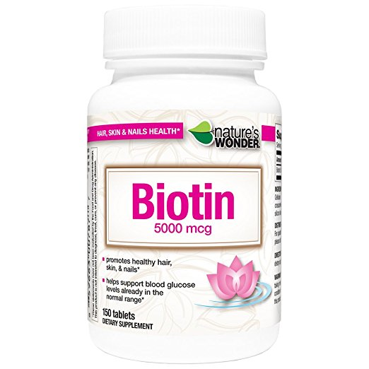Nature's Wonder Biotin (150 Tablets)