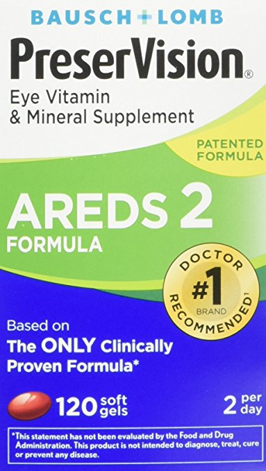 AREDS2 PreserVision 120 Softgels