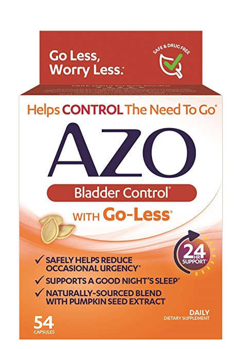 Azo Bladder Control Pills (54 capsules)