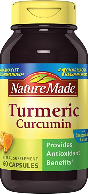 Nature Made Turmeric Curcumin 500 mg. 60 Ct