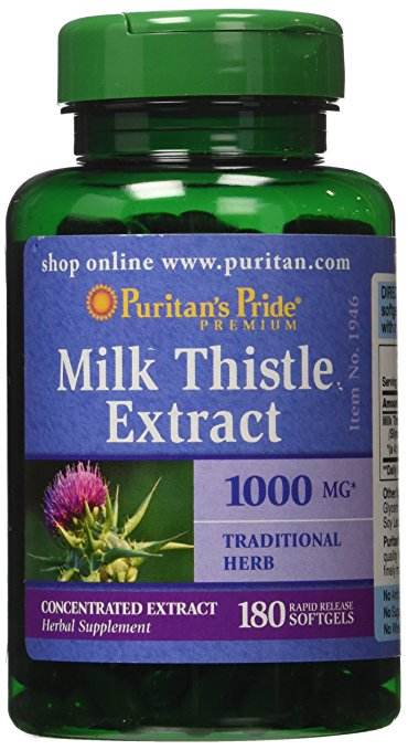 Milk Thistle 1000 mg, 180 ct